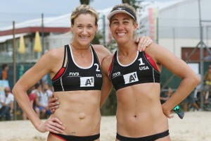 Kerri Walsh and April Ross (USA)